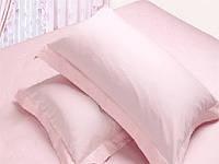 Наволочка с французскими ушками Нежно розовая