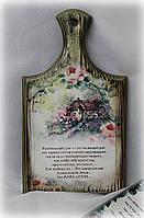 """Досочка-панно """"Родительский дом. Розовый сад"""" досочка"""