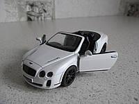 Металлическая машинка Bentley Continental Supersports Convertible (Kinsmart)