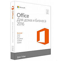 MS Office 2016 Home and Business 32-bit/x64 Russian DVD BOX (T5D-02290)