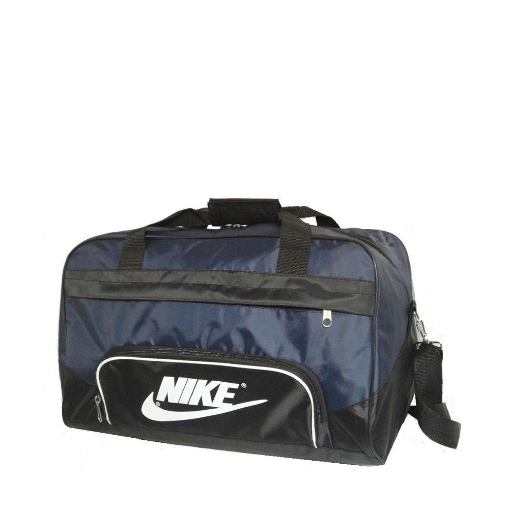 fdb7121c8a08 Спортивная сумка Nike реплика маленькая сине-черная - купить по ...