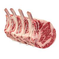 Томагавк стейк. Стейк из мраморной говядины с зачищенной костью