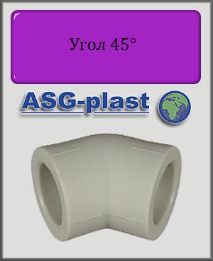 Угол 20х45° ASG-plast полипропилен