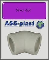 Угол 63х45° ASG-plast полипропилен