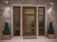 Металлопластиковые двери Schuco