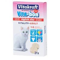 Витамины VITA-BON 31 табл. для кошек Vitakraft