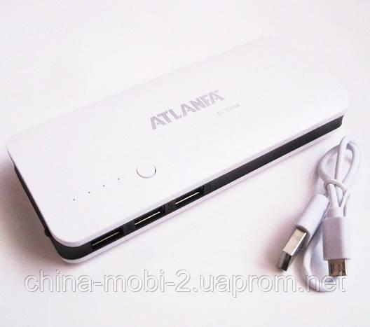 Универсальная батарея -  ATLANFA power bank 12000mAh   AT-D2016 , фото 2