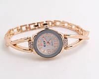 Часы женские позолоченные «Золотое плетение»