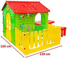 Мега большой садовый домик Garden House столик + 2 табуретки, фото 3