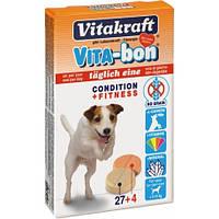 Витамины VITA-BON 31 табл. для собак мелких пород Vitakraft
