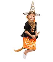 """Детский карнавальный костюм для девочки"""" Ведьма"""""""