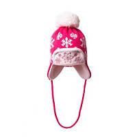 Шапка Снежинка детская для девочки