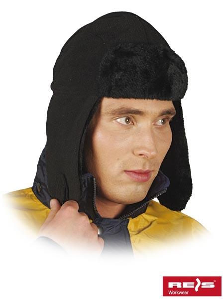 Утепленная шапка-ушанка CZOPAPA