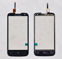Сенсорный экран для мобильного телефона Lenovo A830, черный