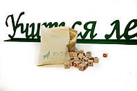 """Шнуровка-кубики """"Алфавит"""", фото 1"""