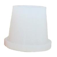 Силиконовый уплотнитель для внешней чаши кальяна, белый