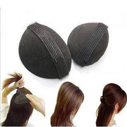 Набор накладок для придания объема волосам на липучках  Bumpit