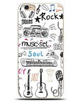 Яркие оригинальные чехлы для Iphone 6 / 6s с рисунком Music