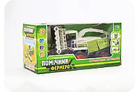 Детская игрушка «Комбайн. Помощник Фермера» (инерционный) M 0343 U/R