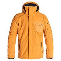 Мужская горнолыжная куртка Quiksilver Mission Jacket - Men's Pumpkin Spice, размер М, фото 1
