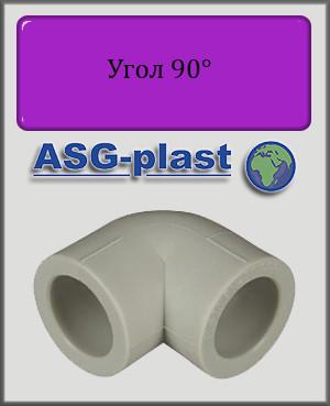 Угол 63х90° ASG-plast полипропилен
