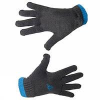 Перчатки спортивные для подростка Y stripy gloves E81889 адидас