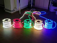 Флекс ЛЕД неон 12В-гибкий светящийся провод. 8х16см.