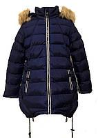 Зимняя курка на девочку HIKIS размер 140-164
