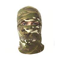 Балаклава флис камуфляж Мультикам зимняя маска