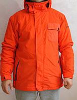 Мужская горнолыжная куртка Quiksilver Mission Jacket - Men's Pumpkin Spice (красная), размер М, фото 1