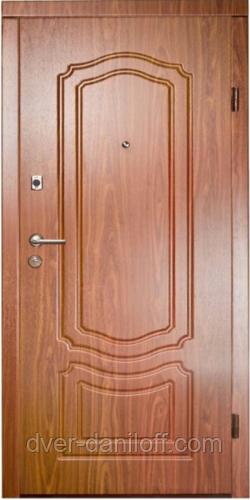 Броньовані двері українського виробництва з МДФ