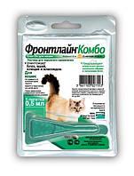 Капли Merial FRONTLINE Combo от блох и клещей для кошек