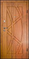 Броньовані двері українського виробництва з МДФ, фото 3