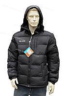 Зимняя мужская куртка с капюшоном очень теплая черная