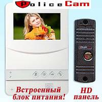 Комплект видеодомофона PoliceCam 431 W HD (PC-668H)