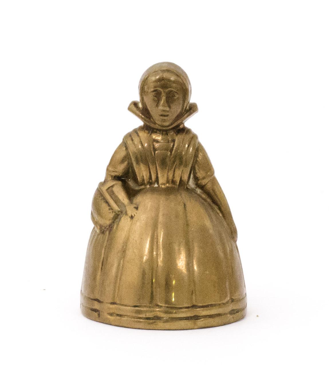 """Колокольчик, """"маленькая леди"""", бронза, Англия"""