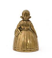 "Колокольчик, ""маленькая леди"", бронза, Англия, фото 1"