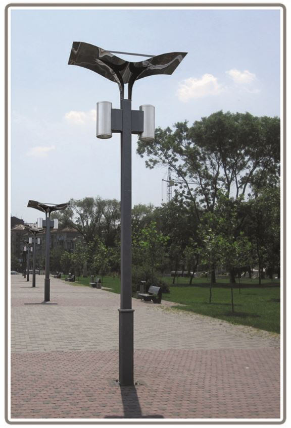 Парковые фонари Сити Лайт (вид на улице)