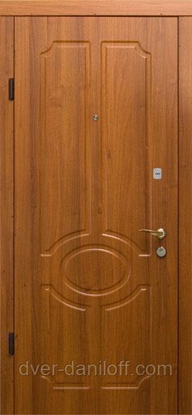 Двері броньовані з МДФ накладками