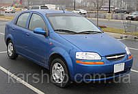 Ветровики для Chevrolet Aveo с 2003-2006 г.в. Sedan VL-tuning