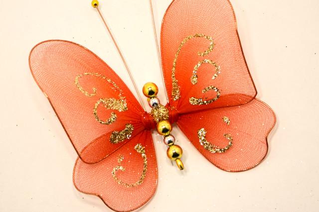 Бабочка декоративная маленькая