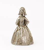 Коллекционный колокольчик, металл, серебрение, Англия