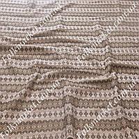Ткань для штор с вышивкой Плахта ТДК-11 4/2