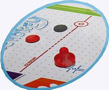 Настольная игра Аэрохоккей ZC 3005+2, от сети 220V, размер 85*42,5*60 см, фото 2