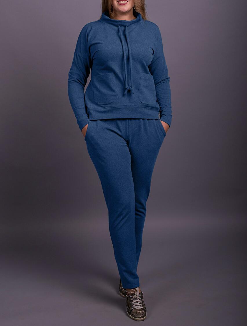 """Спортивный костюм женский """"Блюрей"""" до 70 размера"""