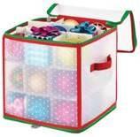 Коробка для хранения новогодних украшений