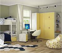 Детская комната  Домино с двухъярусной кроватью