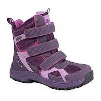 Непромокаемые детские зимние ботинки для девочки