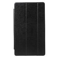 Чехол Tri-fold Silk Texture для Huawei MediaPad M3 8.4 черный