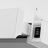 Pyramida TL-60 white (600 мм) вбудована, кухонні, телескопічна витяжка, біла емаль, фото 2